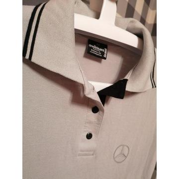 3x nowa Mercedes koszulka z kołnierzem Rozmiar XS
