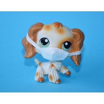 Piesek Spaniel #344 Littlest Pet Shop ORYGINAŁ