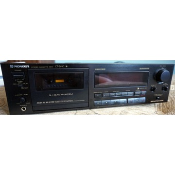 Pioneer ct-s610, 3 głowice, super BLE