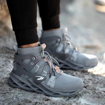 Buty robocze z metalowym noskiem