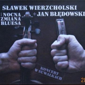 Sławek Wierzcholski - Koncert w Suwałkach; CD;(M)