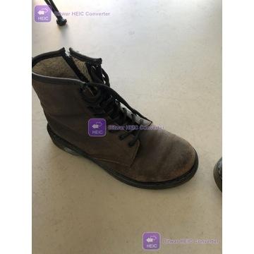 Martensy buty ocieplane