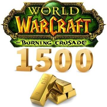 1500 GOLD   KAŻDY SERWER   ALLY/HORDA   WoW TBC