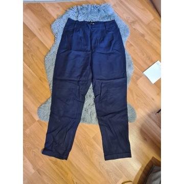 Eleganckie granatowe spodnie Alladynki S/M
