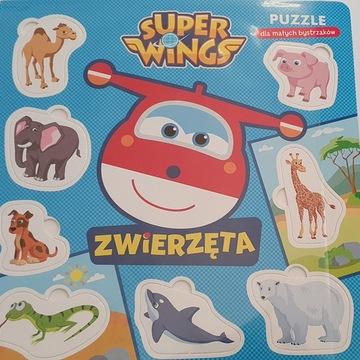 Super Wings Puzzle dla Małych Bystrzaków Zwierzęta