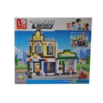 Lego Sluban Town Business Street - Ulica biznesowa