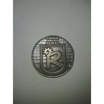 Amulet wspomagający erekcję zabytkowa moneta Bóg