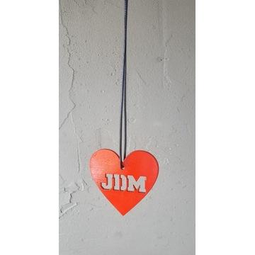 Zawieszka JDM SERCE* sklejka 3mm, sznurek, love *
