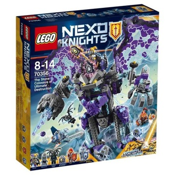 Lego Nexo Knights 70356 + 3 figurki gratis