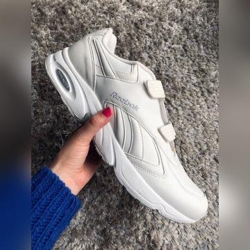 Białe męskie obuwie Reebok, rozmiar 50
