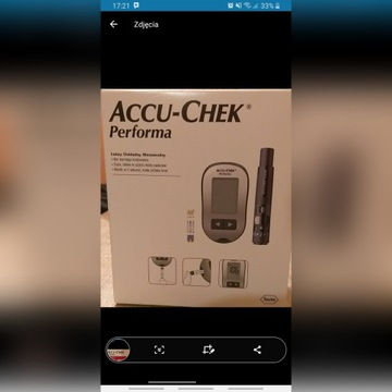 Gukometr Accu-Chek Performa