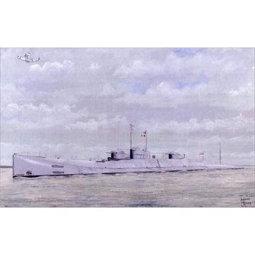 Krążownik okręt podwodny Royal Navy HMS X1