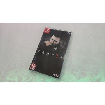 Vampyr gra na konsolę Nintendo Switch