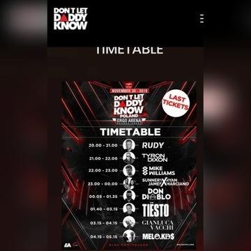 Bilety  2 szt. na Tiesto Gdańsk 30.11.2019