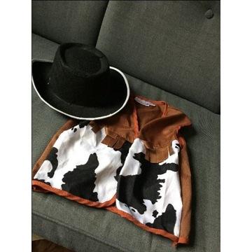 Strój kowboja plus kapelusz 4-6 lat