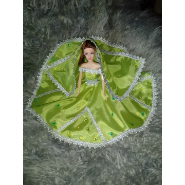 Ubranka suknie sukienki dla lalki barbie