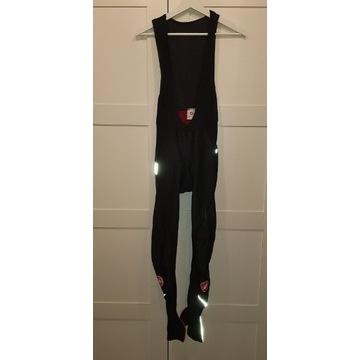 Spodnie kolarskie na szelkach Castelli Thermo M