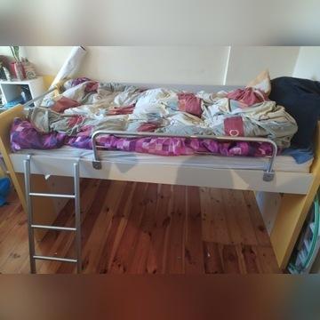 Łóżko dziecięce młodzieżowe piętrowe z bazą