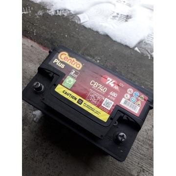 akumulator centra 74 Ah