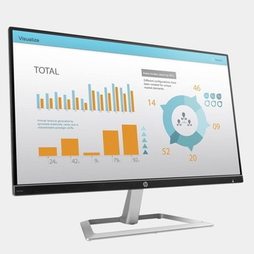 Monitor HP 24 IPS bezramkowy FHD Full HD 1920x1080