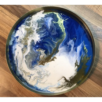 Taca dekoracyjna Earth 30 cm