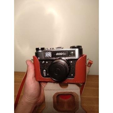Aparat fotograficzny Fed 5c +industar 61L/D