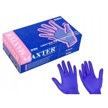 Rękawice nitrylowe MAXTER 10x100sztuk rozmiar XL