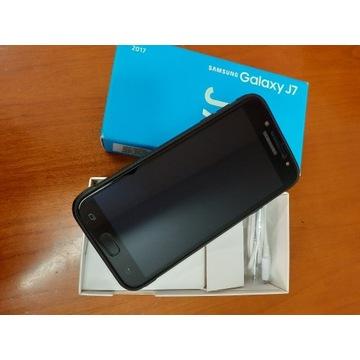 Samsung Galaxy J7 SM-J730F/DS czarny - jak nowy