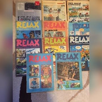 zeszyty  z serii relax