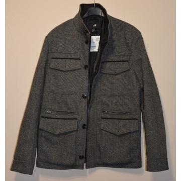 Nowy z metką płaszcz H&M męski rozmiar 38/M UK