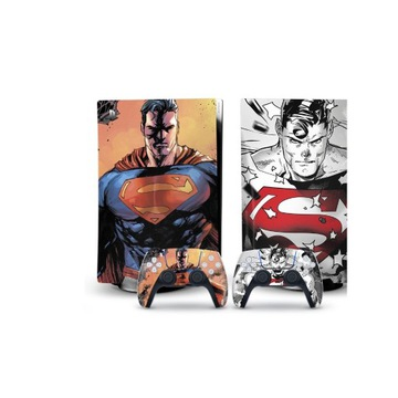 skin naklejka skórka Playstation 5 Bluray Superman