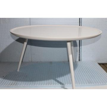 Stolik kawowy okrągły, biały HomeTrends4You