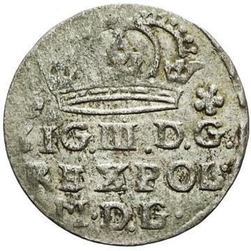 Zygmunt III Waza Grosz 1623 MDG zamiast MDL