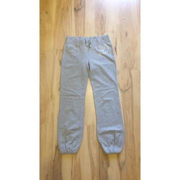 Guess szare spodnie dresowe 38 M L cyrkonie