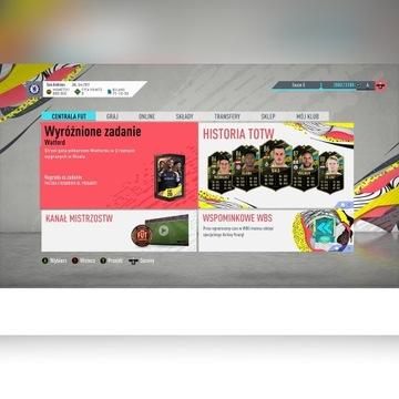 Konto FIFA 20 + 800k + WebApp