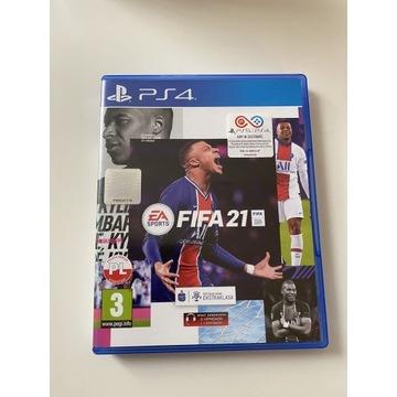 FIFA 21 PL wersja pudełkowa PS4