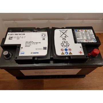 Nowy Akumulator MERCEDES 92Ah 850A AGM Oryginalny!