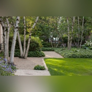 Projekt ogrodu rabaty balkonu tarasu byliny