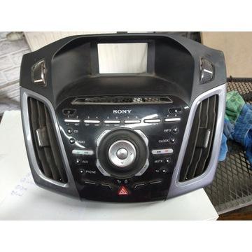Ford Focus MK3 panel radio Sony