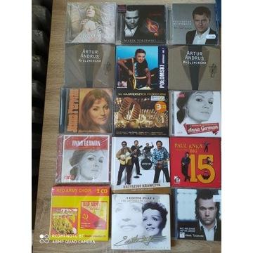 Nowe plyty CD kazda z nich za 15 zł, wszystkie w f
