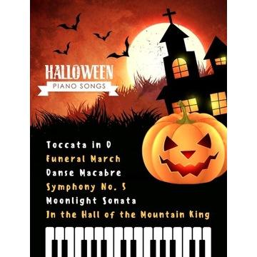Halloween Piano Songs - Bardzo łatwe aranże - PDF