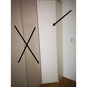 Szafa narożna Ikea Pax biała
