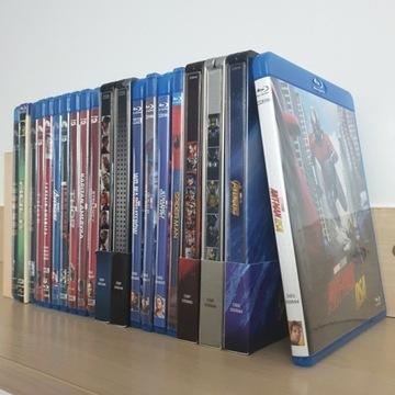 Marvel Cinematic Universe MCU 20 filmów blu-ray PL