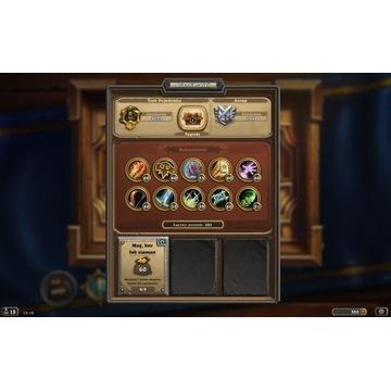 Battlenet Gra Hearthstone Konto EU 130 Legend