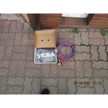TEXA Przewody serwisowe,złączki,pokrowiec