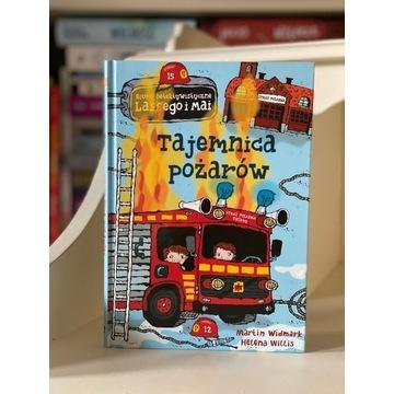 Bestseller LASSE i MAJA Tajemnica pożarów Widmark