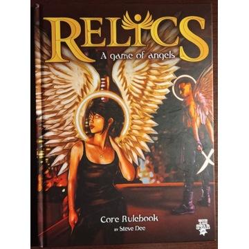 Relics - A game of angels RPG + karty tarota nowa