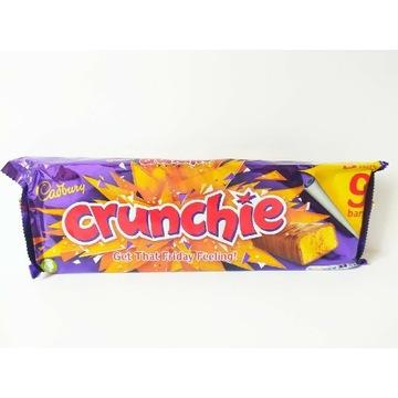 Mega paka batony Cadbury Crunchie. Słodycze z UK