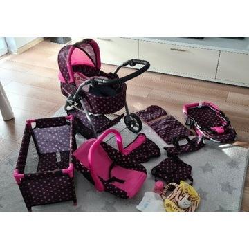 DORIS wózek dla lalek 7w1 z lalką+ gratisy