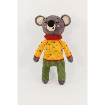 Miś koala, urocza zabawka przytulanka, handmade